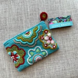 Jenny Krauss Embroidered Wool Bag